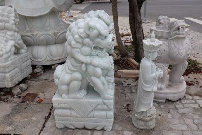 Điêu khắc tượng đá kỳ lân tại Đà Nẵng