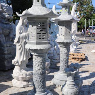 Điêu khắc đèn vườn